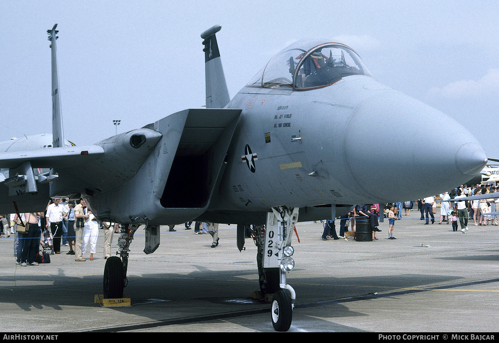 Aircraft Photo of 80-0029 | McDonnell Douglas F-15C Eagle | USA - Air Force | AirHistory.net #49502