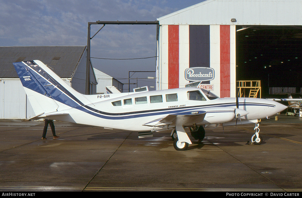 Aircraft Photo of P2-SIR | Cessna 402C Businessliner | AirHistory.net #50381