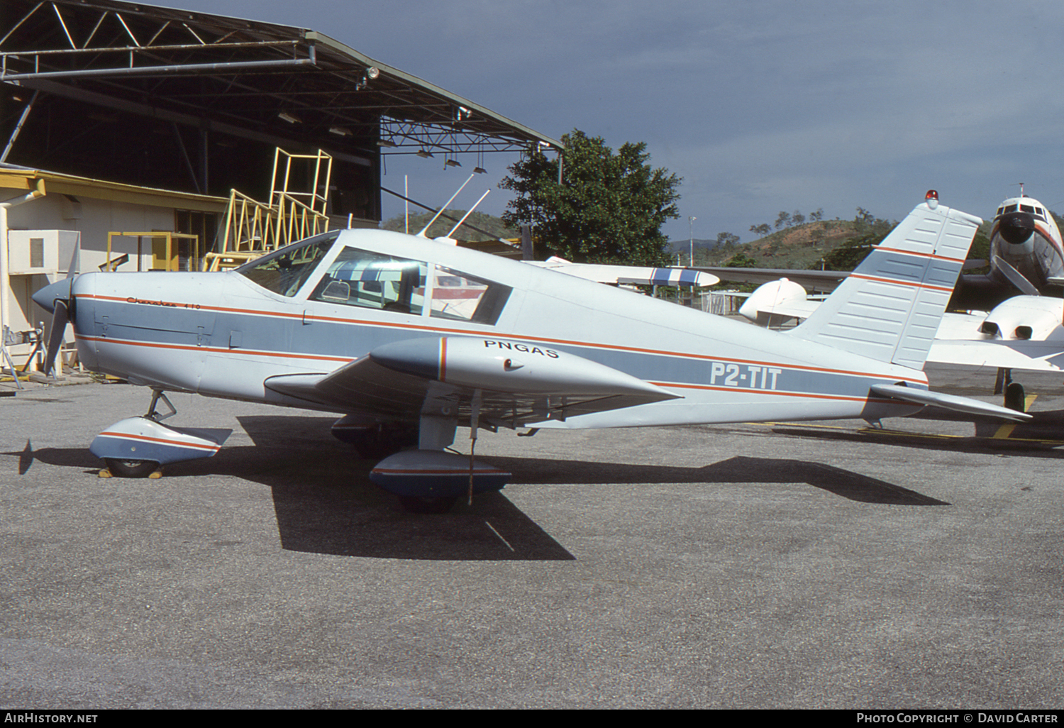 Aircraft Photo of P2-TIT | Piper PA-28-140 Cherokee | PNGAS | AirHistory.net #50420