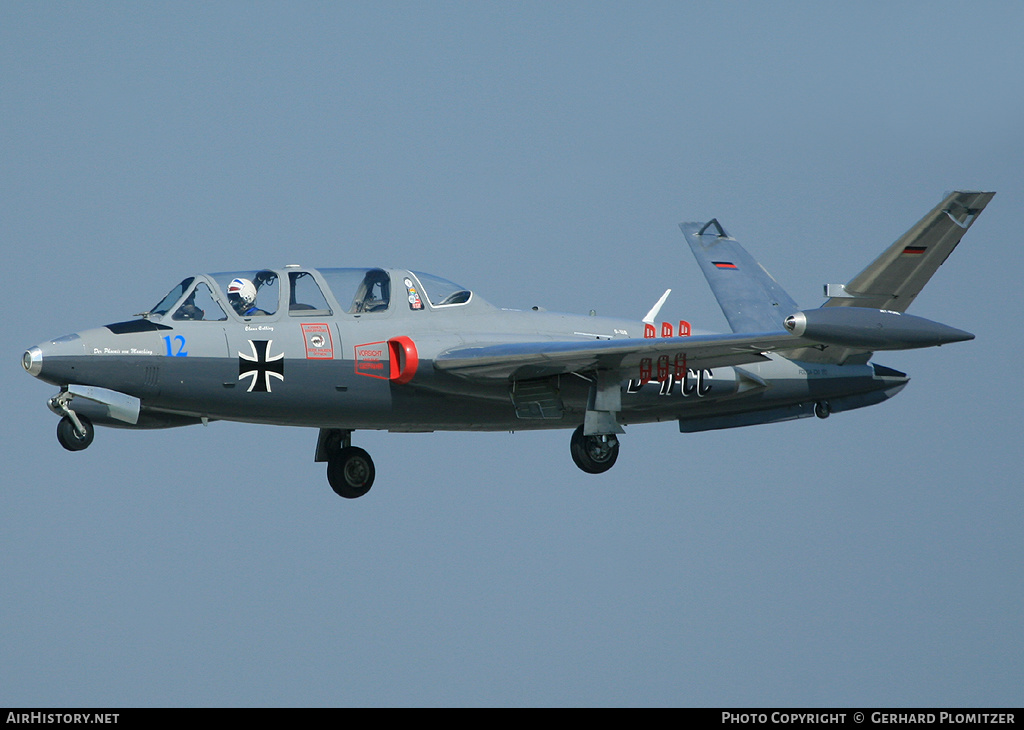 Aircraft Photo of D-IFCC | Fouga CM-170R Magister | AirHistory.net #50697