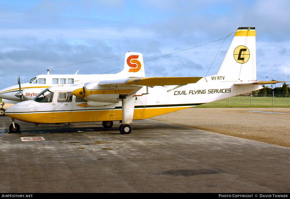 Aircraft Photo of VH-RTV | Britten-Norman BN-2A-26 Islander | Civil Flying Services | AirHistory.net #50775