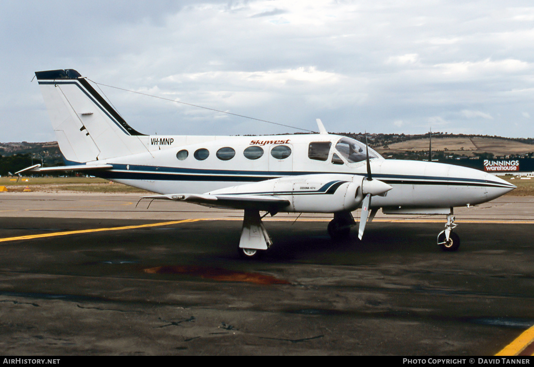 Aircraft Photo of VH-MNP | Cessna 421C Golden Eagle | Skywest Airlines | AirHistory.net