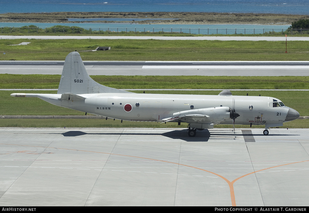 Aircraft Photo of 5021 | Lockheed P-3C Orion | Japan - Navy | AirHistory.net #51219
