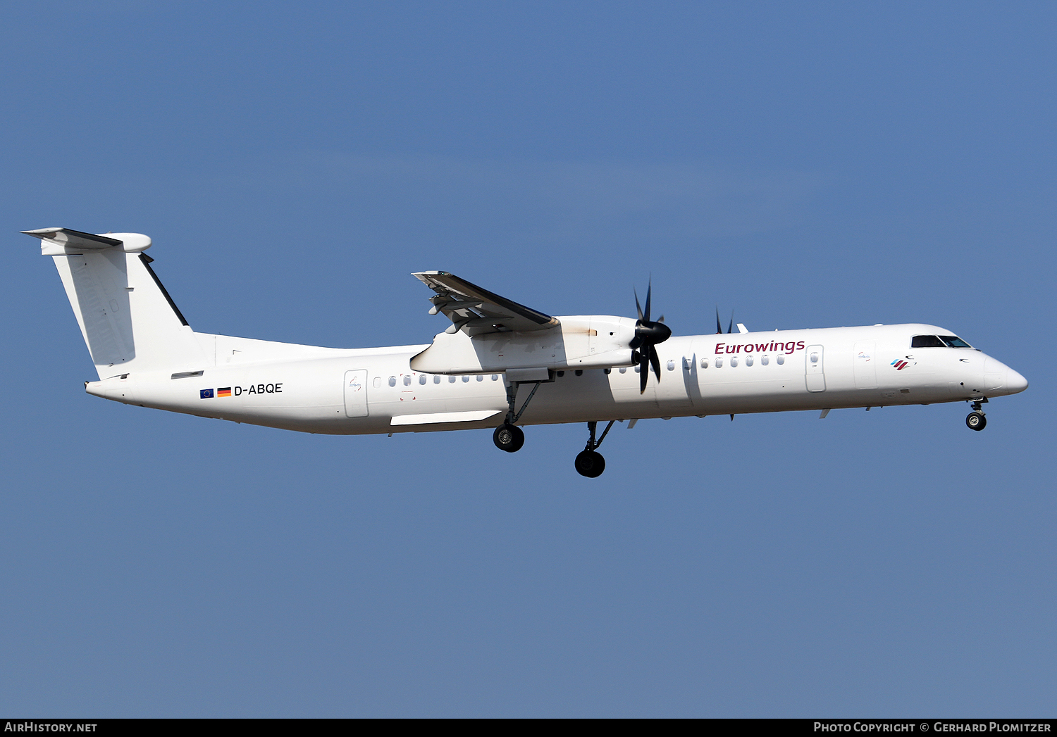Aircraft Photo of D-ABQE | Bombardier DHC-8-402 | Eurowings | AirHistory.net #51233
