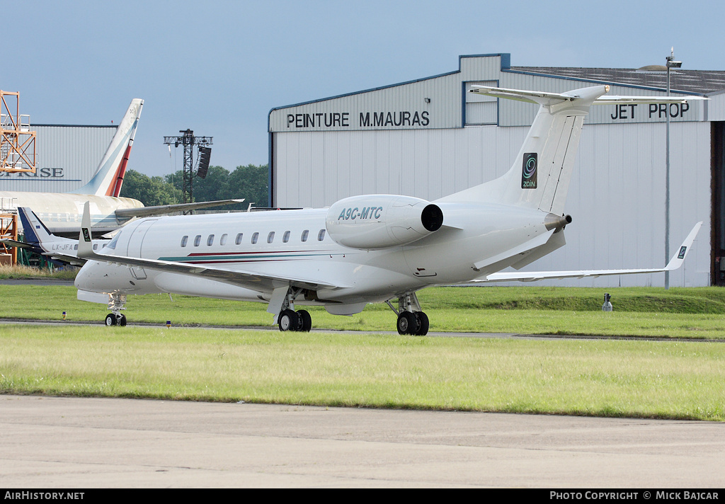 Aircraft Photo of A9C-MTC | Embraer Legacy 600 (EMB-135BJ) | AirHistory.net #51315