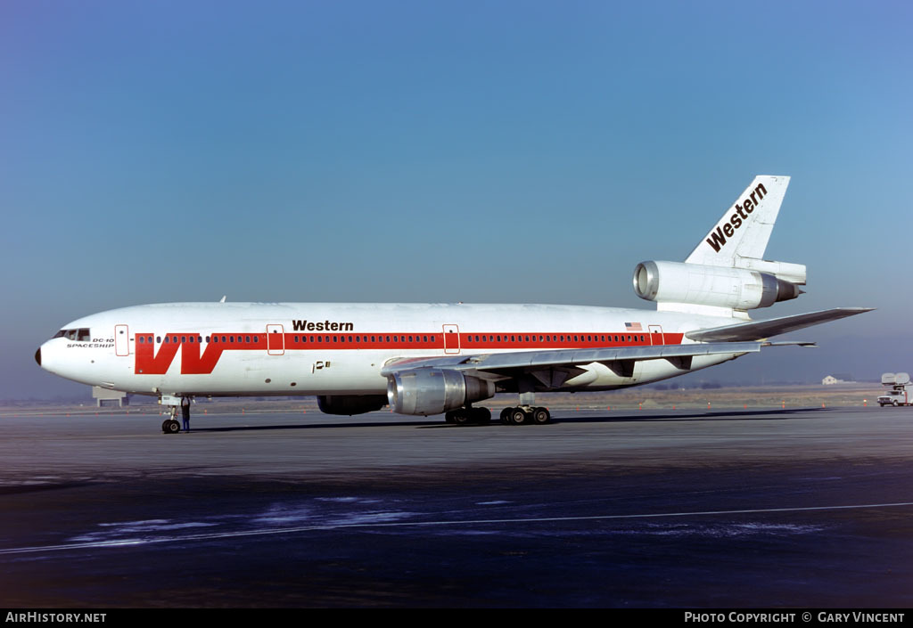 Aircraft Photo of N902WA | McDonnell Douglas DC-10-10 | Western Airlines | AirHistory.net
