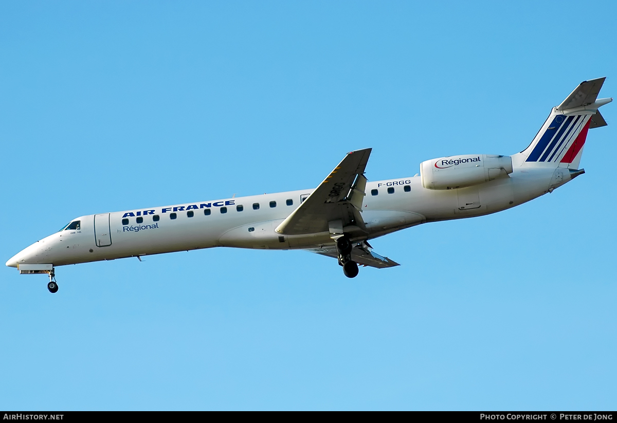 Aircraft Photo of F-GRGG | Embraer ERJ-145EU (EMB-145EU) | Air France | AirHistory.net #51514