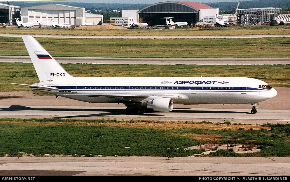 Aircraft Photo of EI-CKD | Boeing 767-3Y0/ER | Aeroflot - Russian International Airlines | AirHistory.net #51529