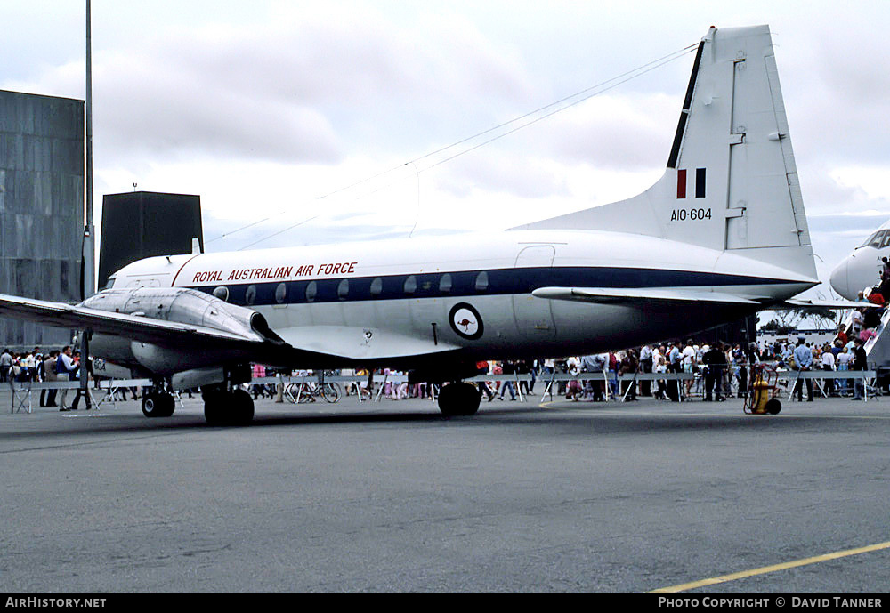 Aircraft Photo of A10-604 | Hawker Siddeley HS-748 Srs2/229 | Australia - Air Force | AirHistory.net #51596