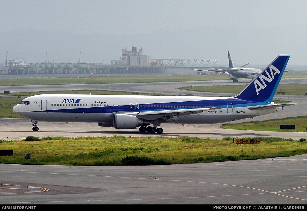 Aircraft Photo of JA8358 | Boeing 767-381/ER | All Nippon Airways - ANA | AirHistory.net #51819