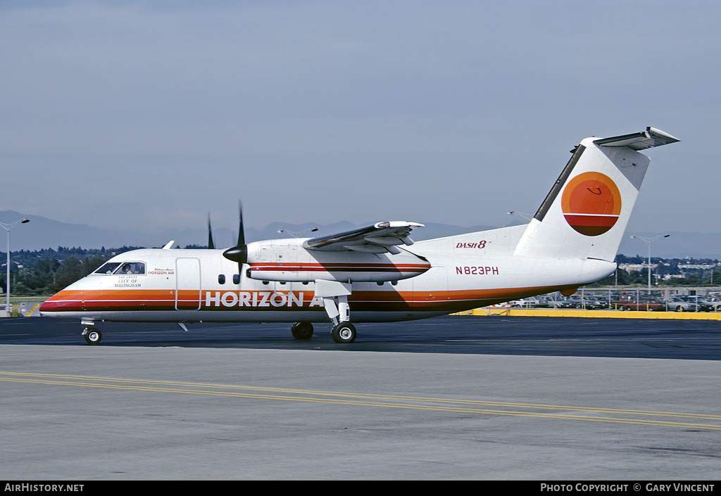 Aircraft Photo of N823PH | De Havilland Canada DHC-8-102 Dash 8 | Horizon Air | AirHistory.net #52086