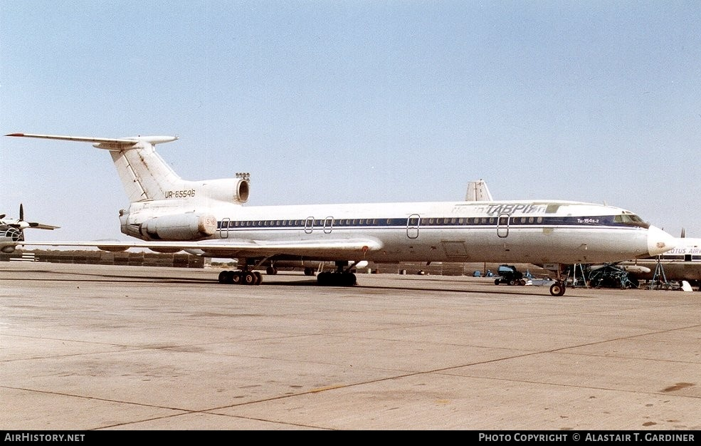 Aircraft Photo of UR-85546 | Tupolev Tu-154B-2 | Tavrey Airlines | AirHistory.net #52146
