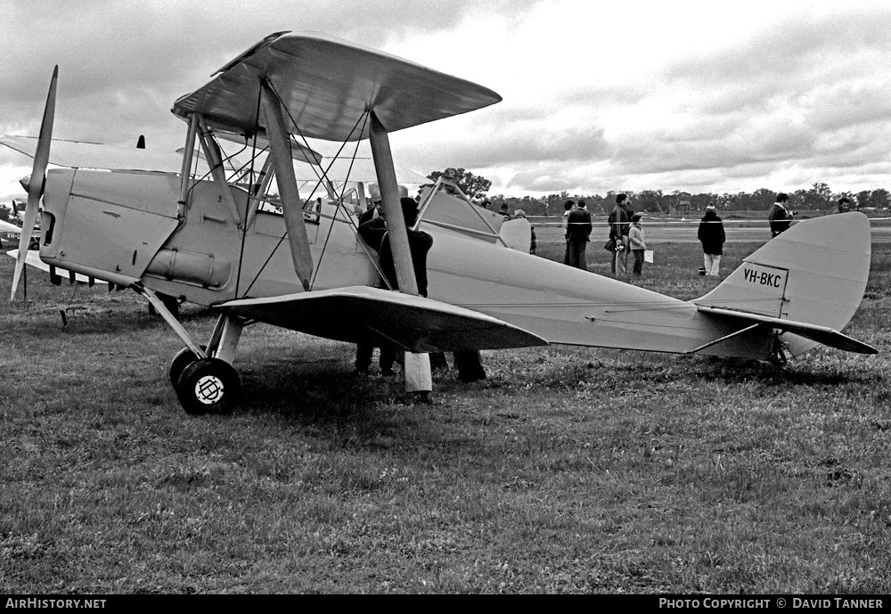 Aircraft Photo of VH-BKC | De Havilland D.H. 82A Tiger Moth | AirHistory.net #52260