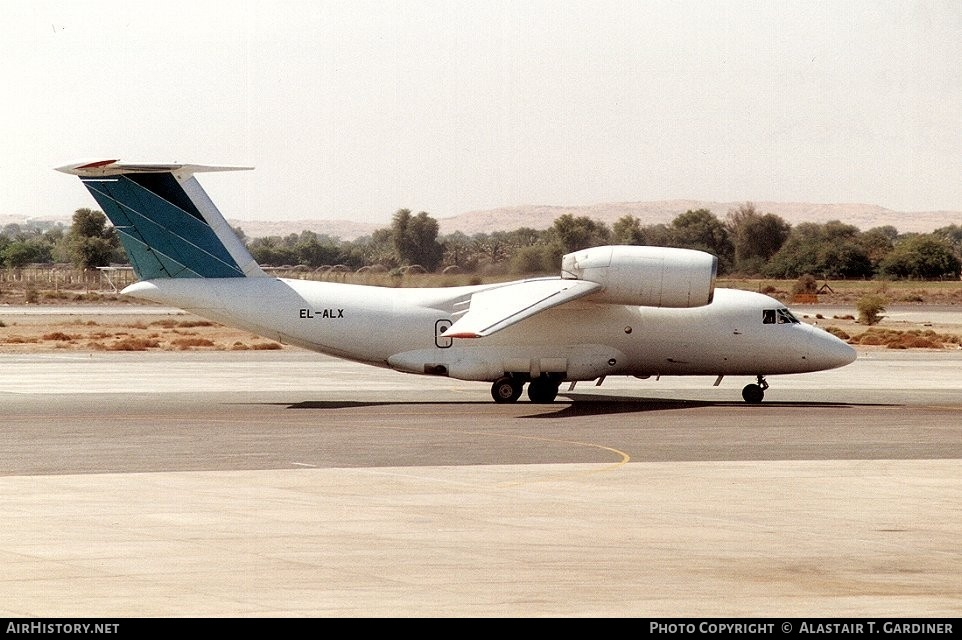 Aircraft Photo of EL-ALX | Antonov An-72 | Centrafricain Airlines | AirHistory.net #52374