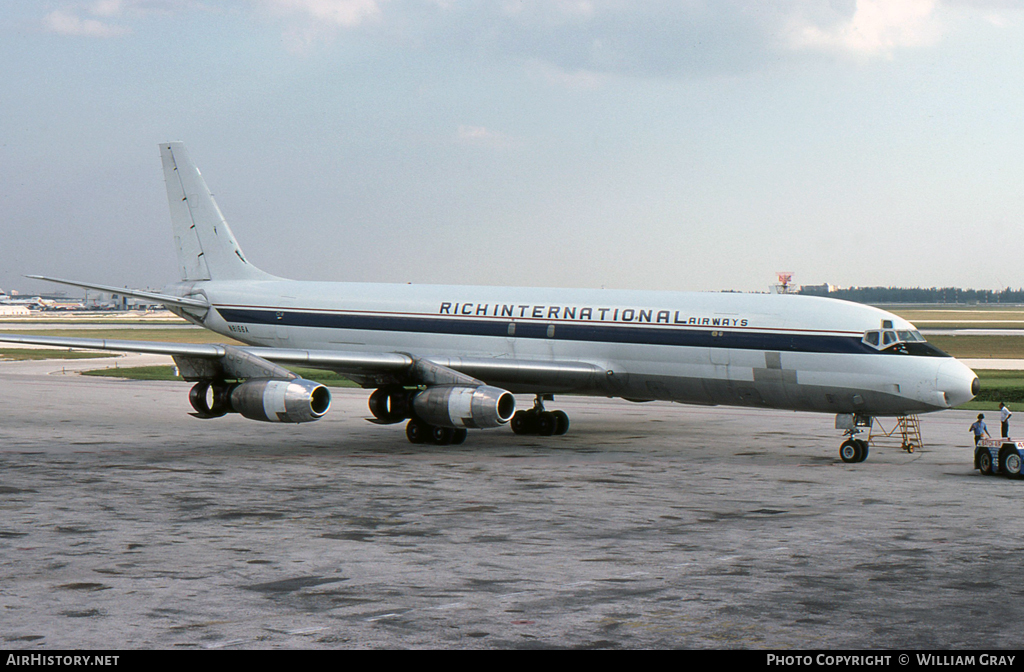 Aircraft Photo of N8166A | Douglas DC-8-33(F) | Rich International Airways | AirHistory.net #52396