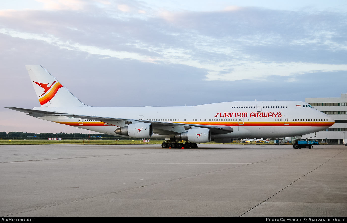 Aircraft Photo of PH-BUW | Boeing 747-306(SCD) | Surinam Airways | AirHistory.net #52498