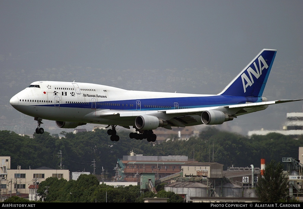Aircraft Photo of JA8961 | Boeing 747-481D | All Nippon Airways - ANA | AirHistory.net #52524