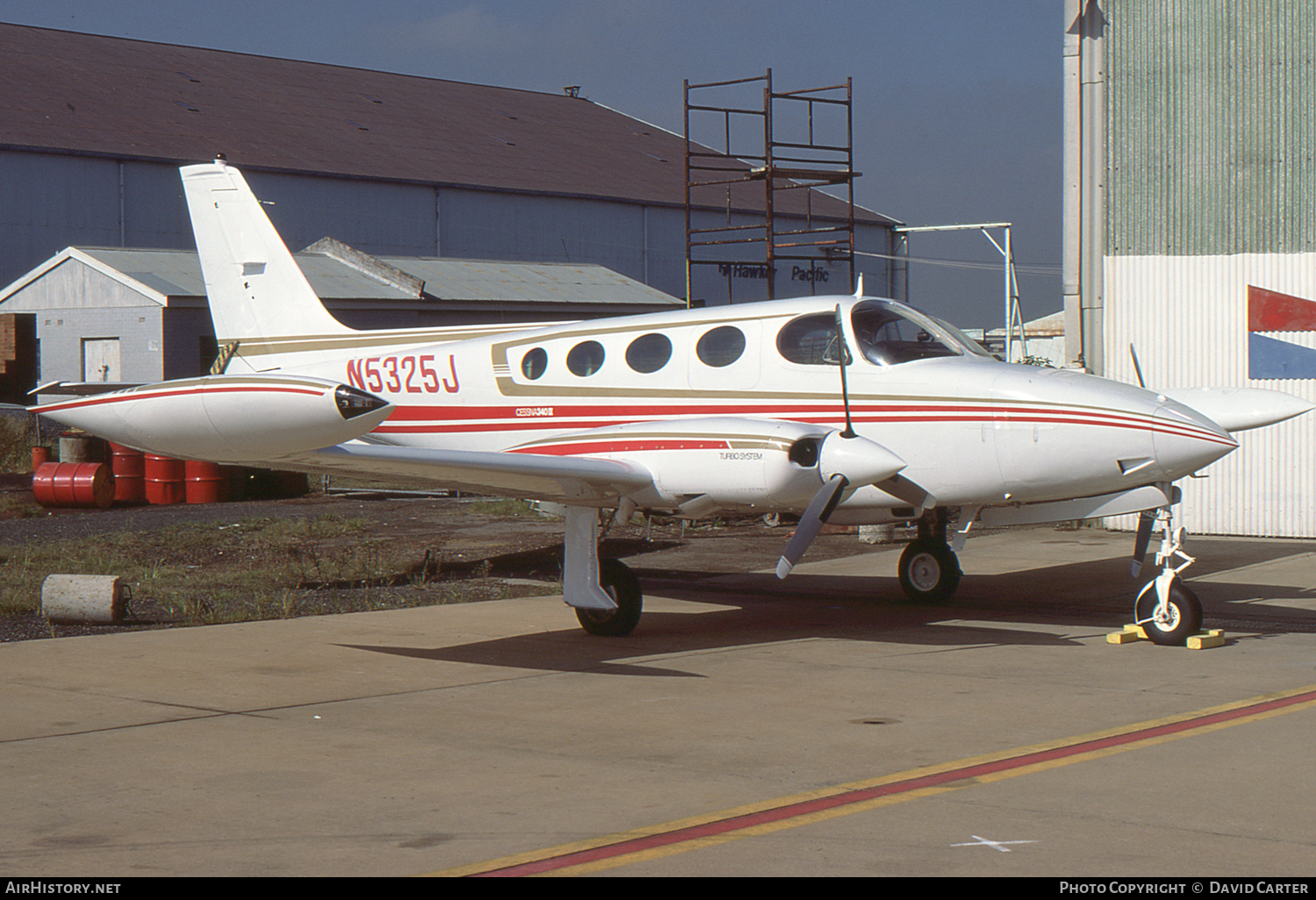Aircraft Photo of N5325J | Cessna 340A II | AirHistory.net #52558