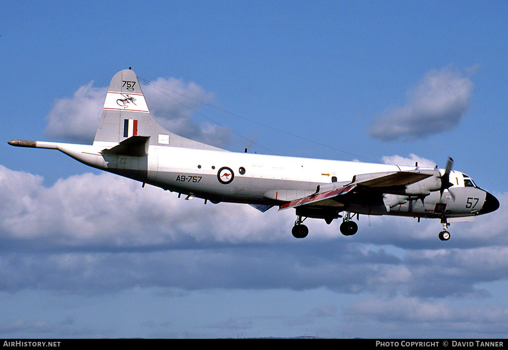 Aircraft Photo of A9-757 | Lockheed P-3C Orion | Australia - Air Force | AirHistory.net #52657