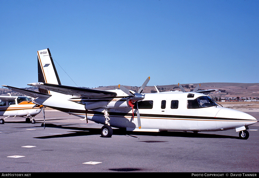Aircraft Photo of VH-DLK | Rockwell 690A Turbo Commander | AirHistory.net #52731