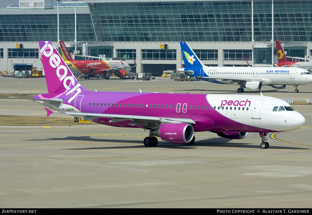 Aircraft Photo of JA809P | Airbus A320-214 | Peach Aviation | AirHistory.net #52740