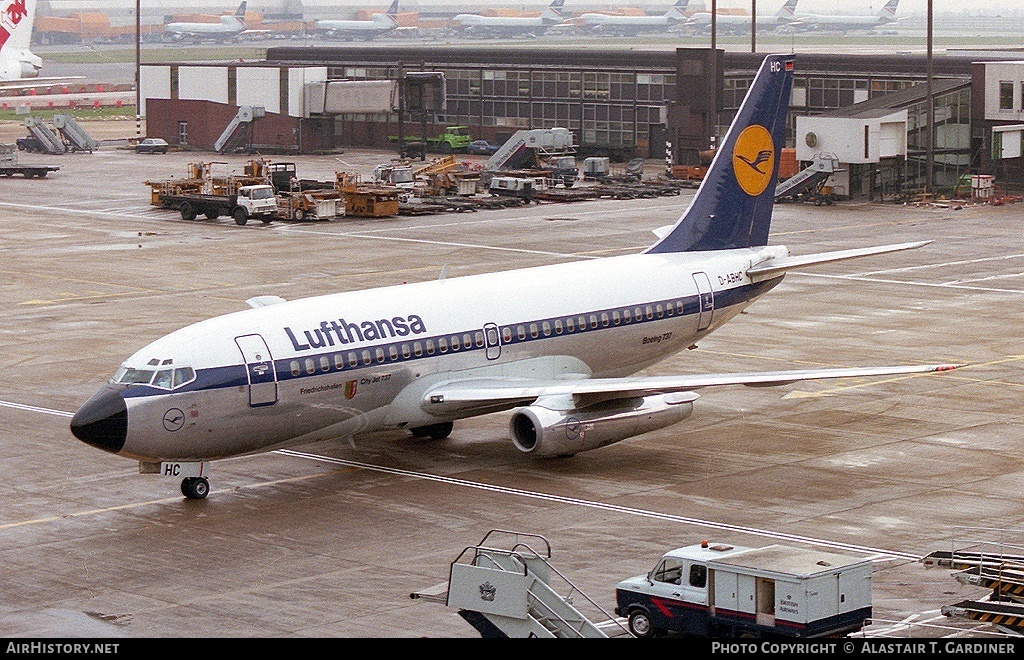 Aircraft Photo of D-ABHC | Boeing 737-230/Adv | Lufthansa | AirHistory.net #53071