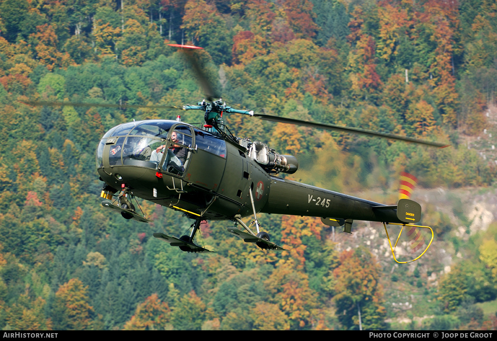 Aircraft Photo of V-245 | Sud SE-3160 Alouette III | Switzerland - Air Force | AirHistory.net #53400