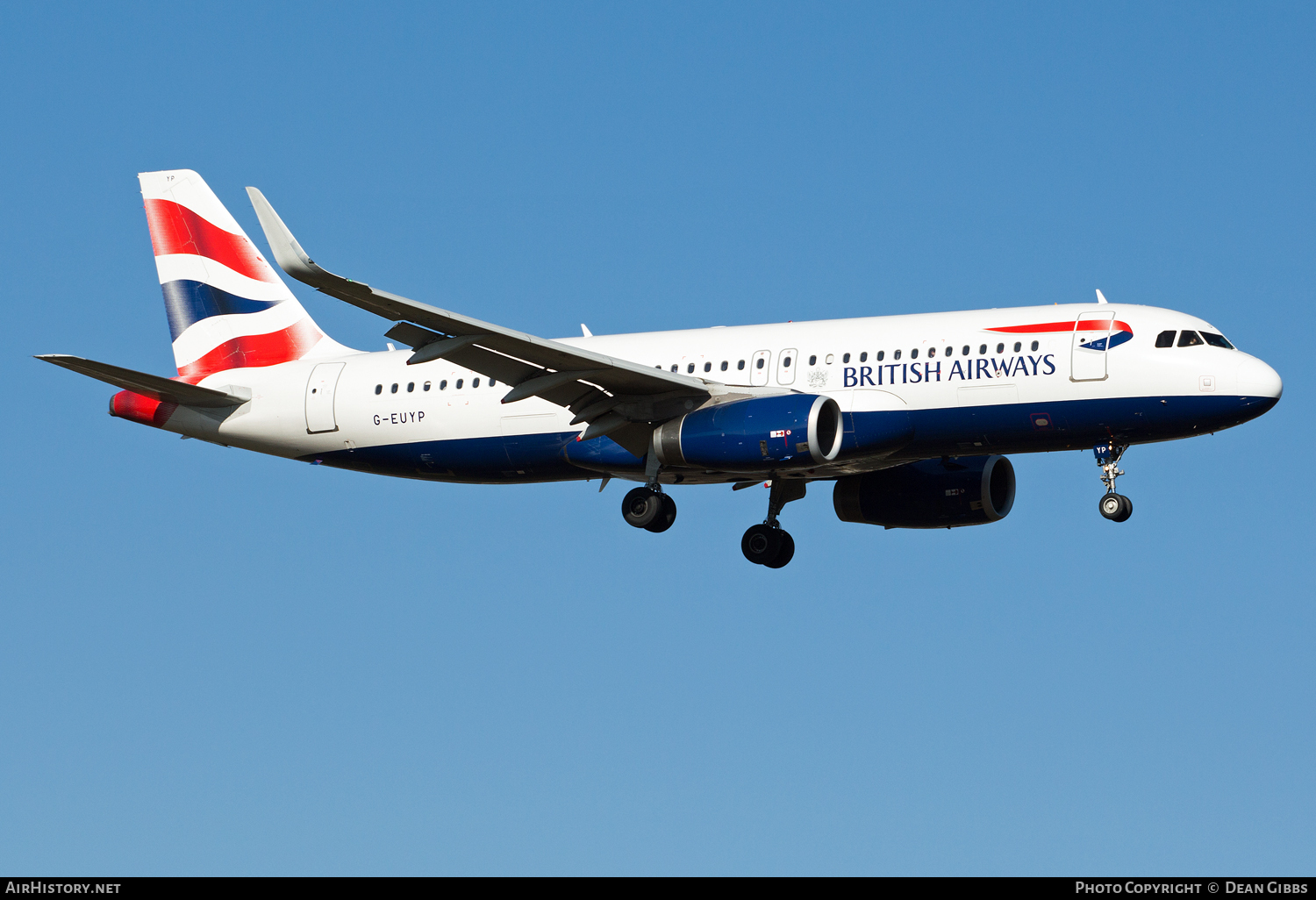 Aircraft Photo of G-EUYP | Airbus A320-232 | British Airways | AirHistory.net #53651