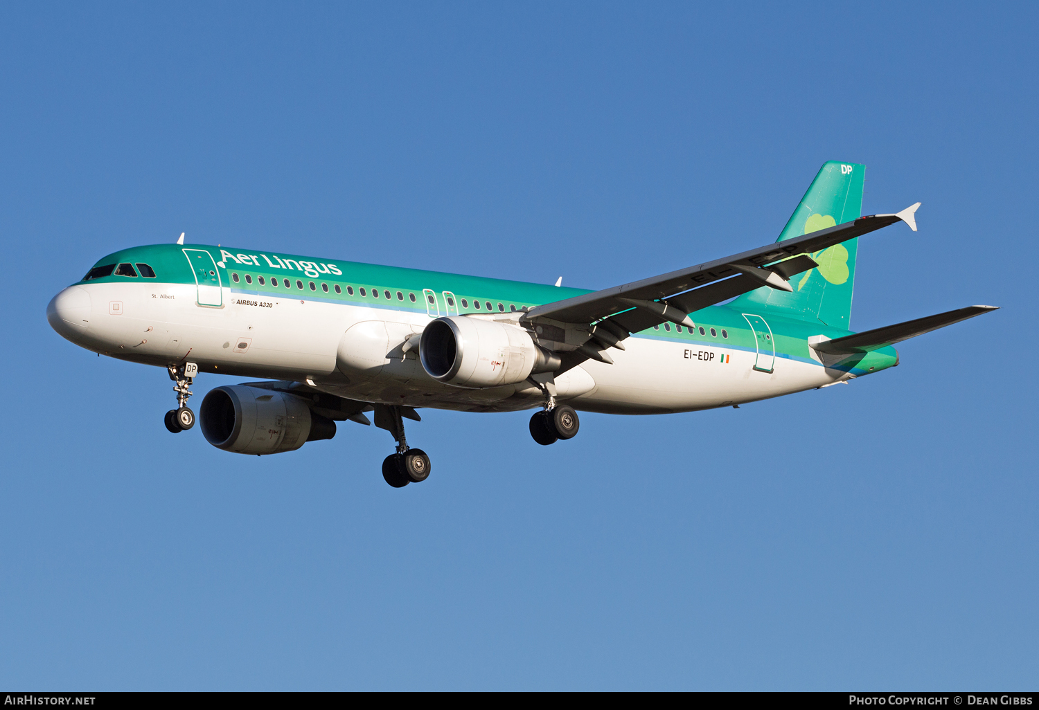 Aircraft Photo of EI-EDP | Airbus A320-214 | Aer Lingus | AirHistory.net #53884