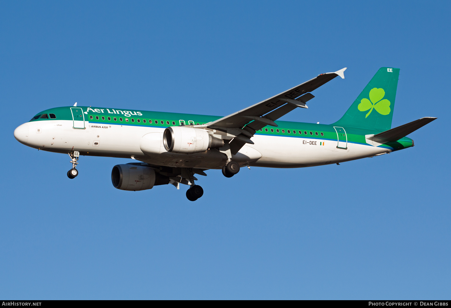 Aircraft Photo of EI-DEE | Airbus A320-214 | Aer Lingus | AirHistory.net #53896