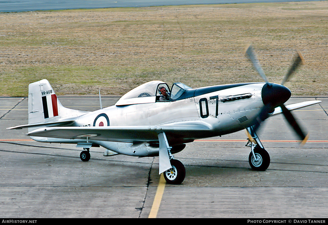 Aircraft Photo of VH-AUB / A68-107 | Commonwealth CA-18 Mustang 21 (P-51D) | Australia - Air Force | AirHistory.net #53967