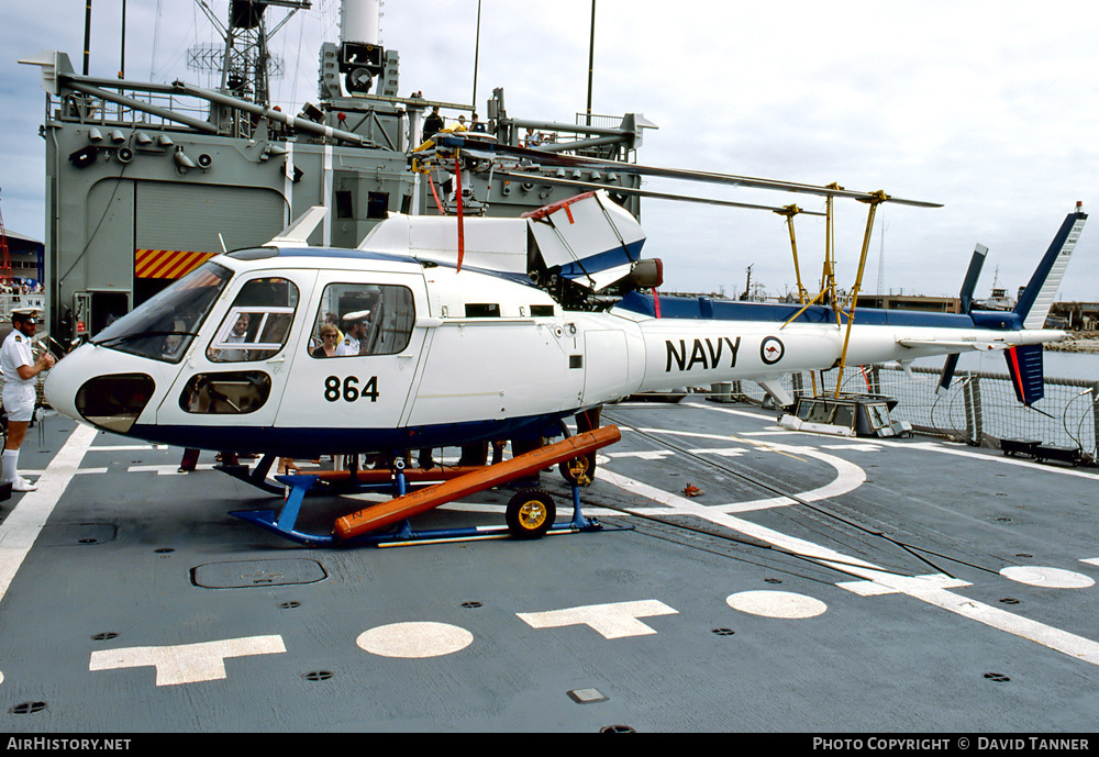 Aircraft Photo of N22-017 | Aerospatiale AS-350B Squirrel | Australia - Navy | AirHistory.net