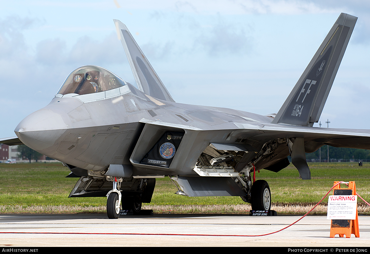Aircraft Photo of 08-4164 / AF08-164 | Lockheed Martin F-22A Raptor | USA - Air Force | AirHistory.net