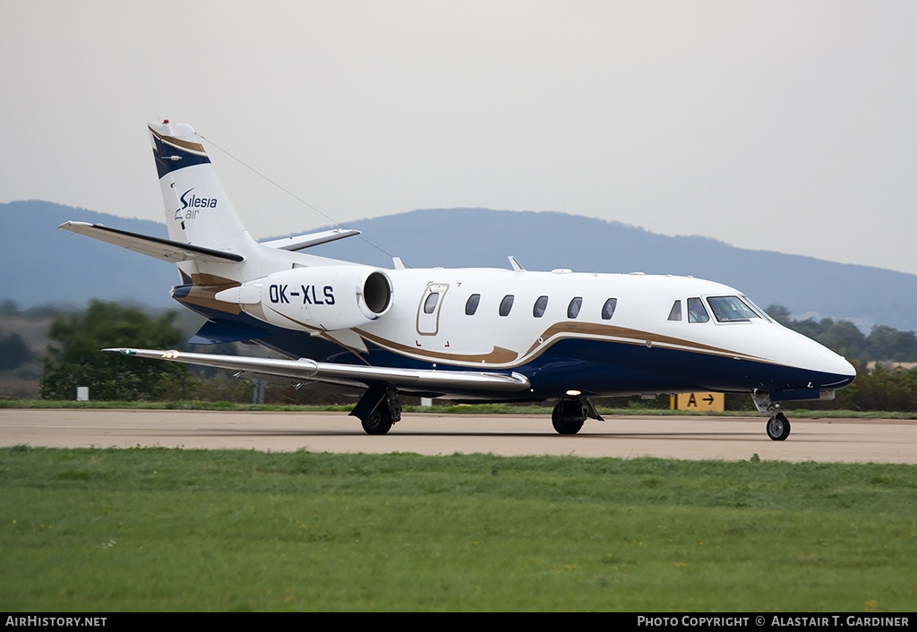 Aircraft Photo of OK-XLS | Cessna 560XL Citation XLS+ | Silesia Air | AirHistory.net #54304