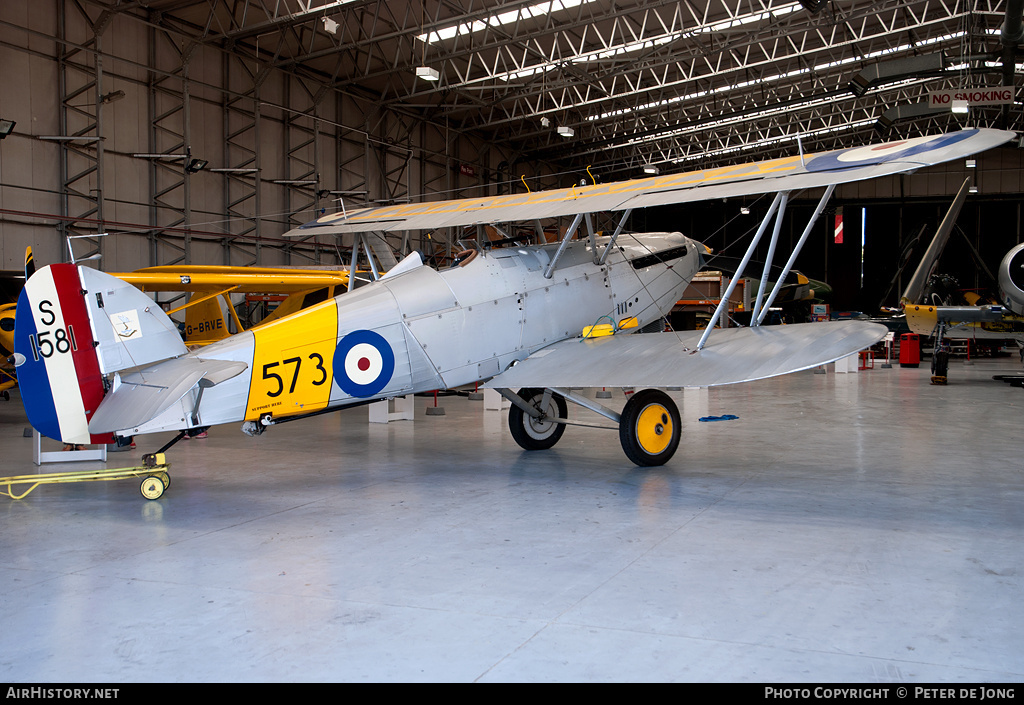 Aircraft Photo of G-BWWK / S1581 | Hawker Nimrod Mk1 | AirHistory.net #54523