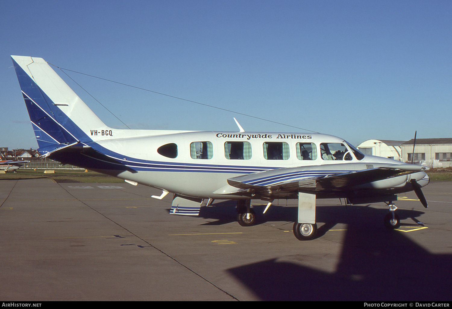 Aircraft Photo of VH-BCQ | Piper PA-31-350 Chieftain | Countrywide Airlines | AirHistory.net #54587