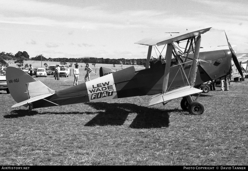 Aircraft Photo of VH-AQJ | De Havilland D.H. 82A Tiger Moth | AirHistory.net #54917