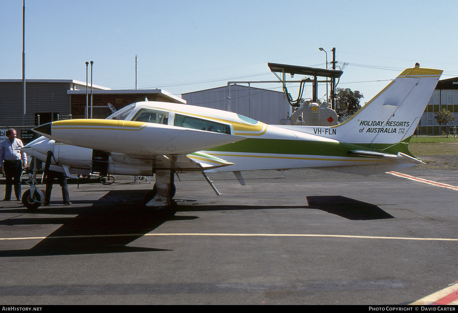 Aircraft Photo of VH-FLN | Cessna 310Q | Holiday Resorts of Australia | AirHistory.net #55029