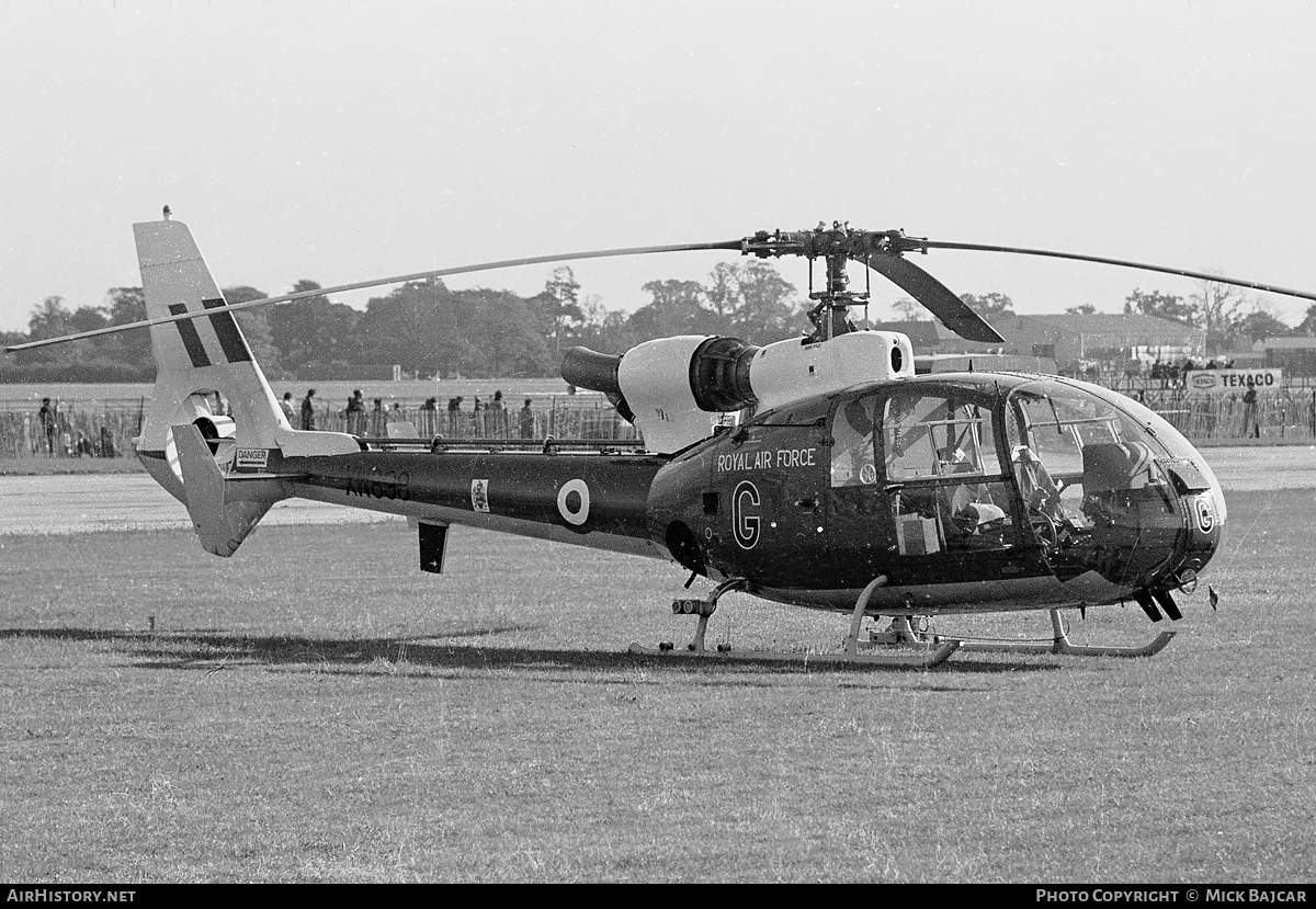 Aircraft Photo of XW898 | Aerospatiale SA-341D Gazelle HT3 | UK - Air Force | AirHistory.net #55041