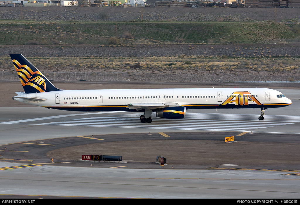 Aircraft Photo of N560TZ | Boeing 757-33N | ATA Airlines - American Trans Air | AirHistory.net #55354