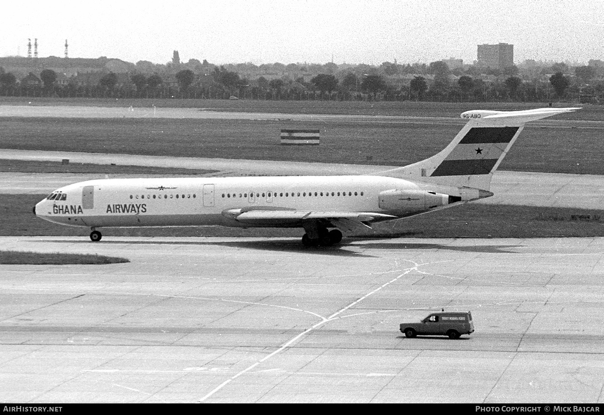 Aircraft Photo of 9G-ABO | Vickers VC10 Srs1102 | Ghana Airways | AirHistory.net #55373