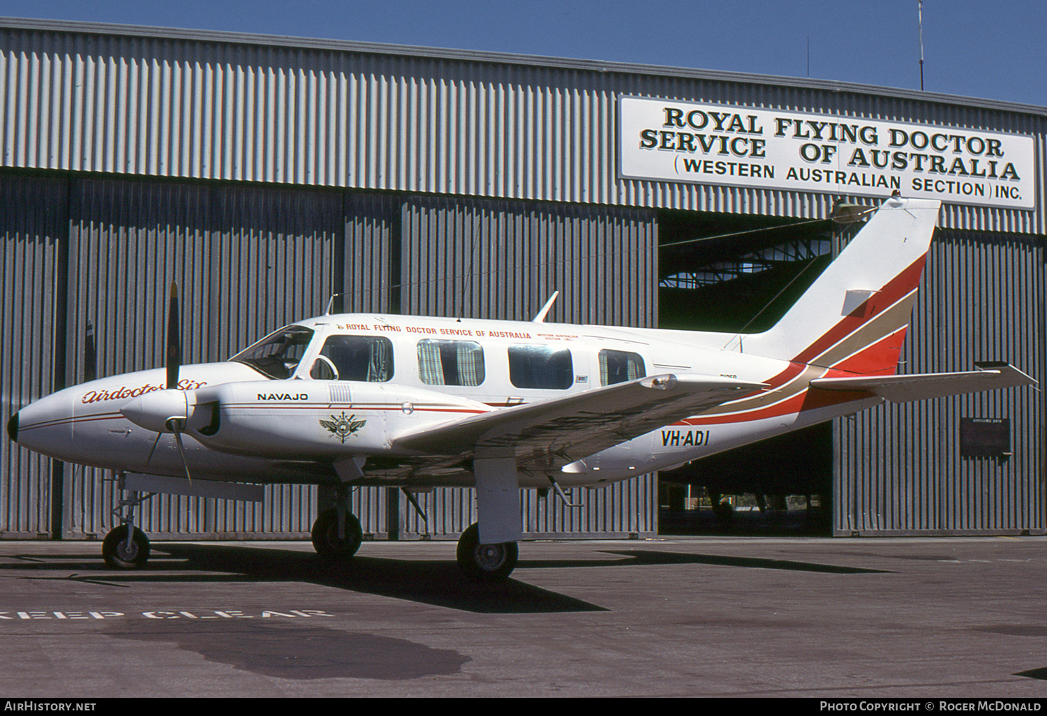Aircraft Photo of VH-ADI | Piper PA-31-310 Navajo | Royal Flying Doctor Service - RFDS | AirHistory.net #55477