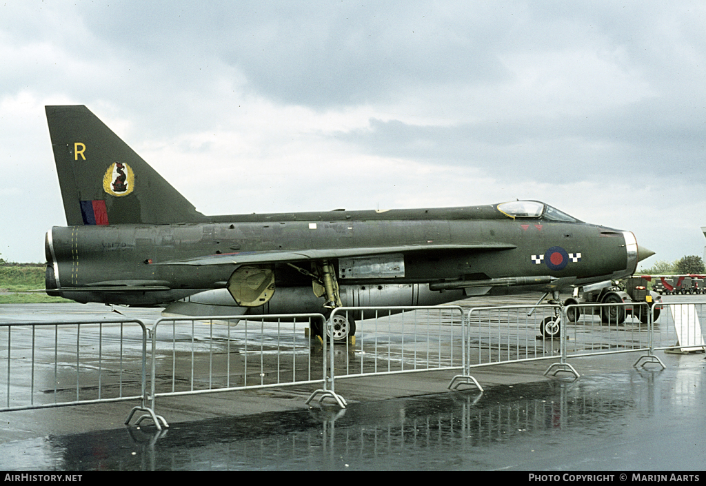 Aircraft Photo of XN784 | English Electric Lightning F2A | UK - Air Force | AirHistory.net #55526