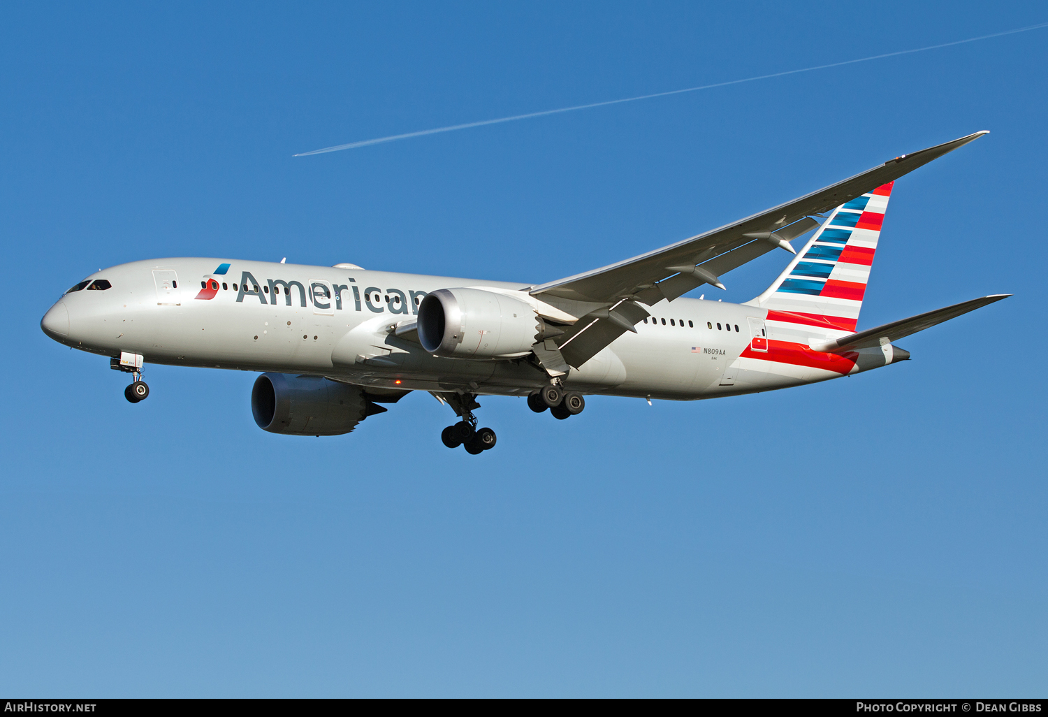 Aircraft Photo of N809AA | Boeing 787-8 Dreamliner | American Airlines | AirHistory.net #55596