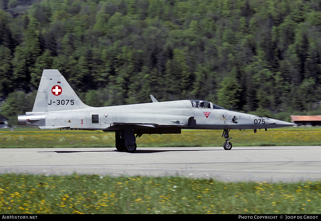 Aircraft Photo of J-3075 | Northrop F-5E Tiger II | Switzerland - Air Force | AirHistory.net #55706