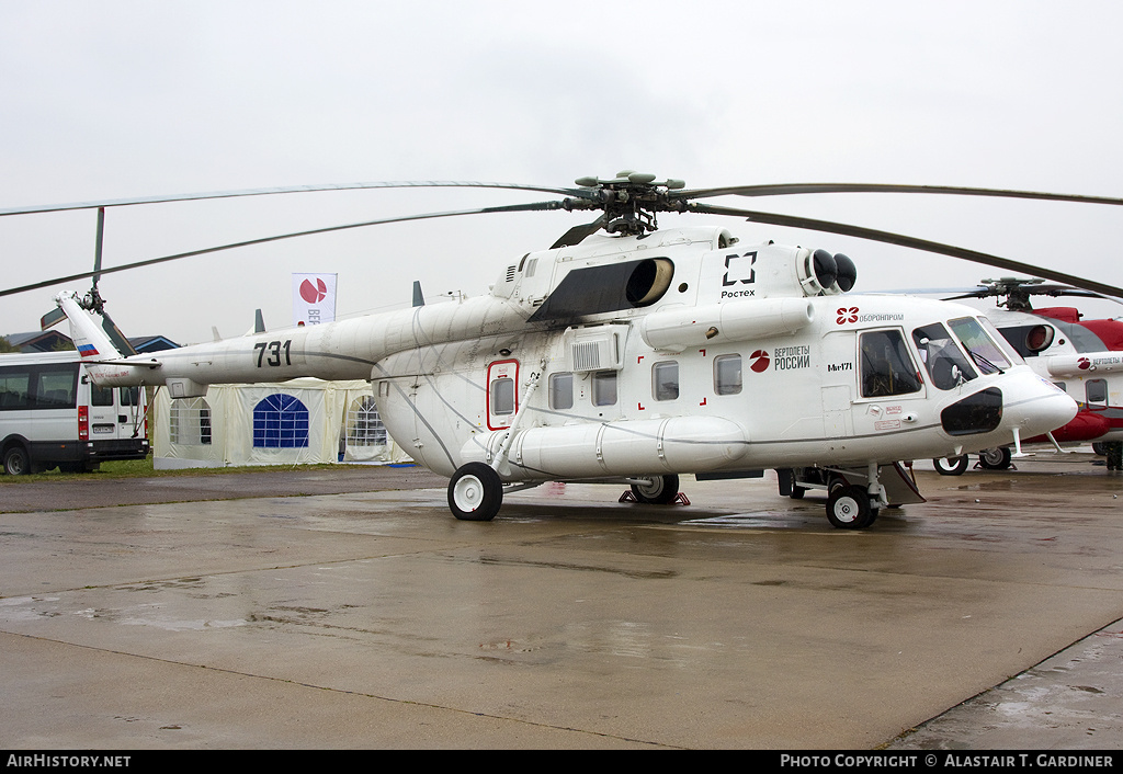 Aircraft Photo of 731 black | Mil Mi-171P | Mil Helicopters | AirHistory.net #55779