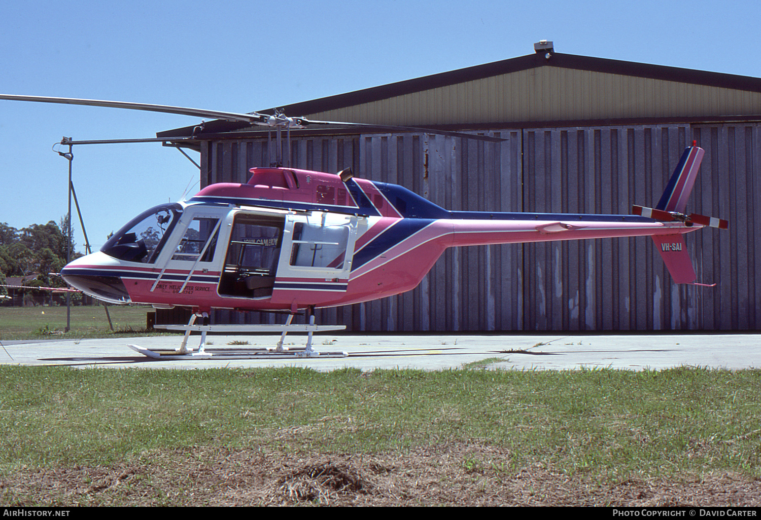 Aircraft Photo of VH-SAI | Bell 206B JetRanger II | Sydney Helicopter Service | AirHistory.net #55803