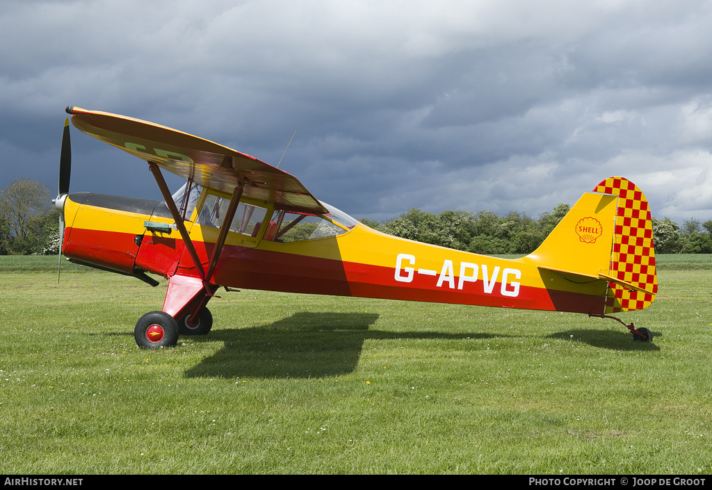 Aircraft Photo of G-APVG | Auster J-5L Aiglet Trainer | AirHistory.net #56010