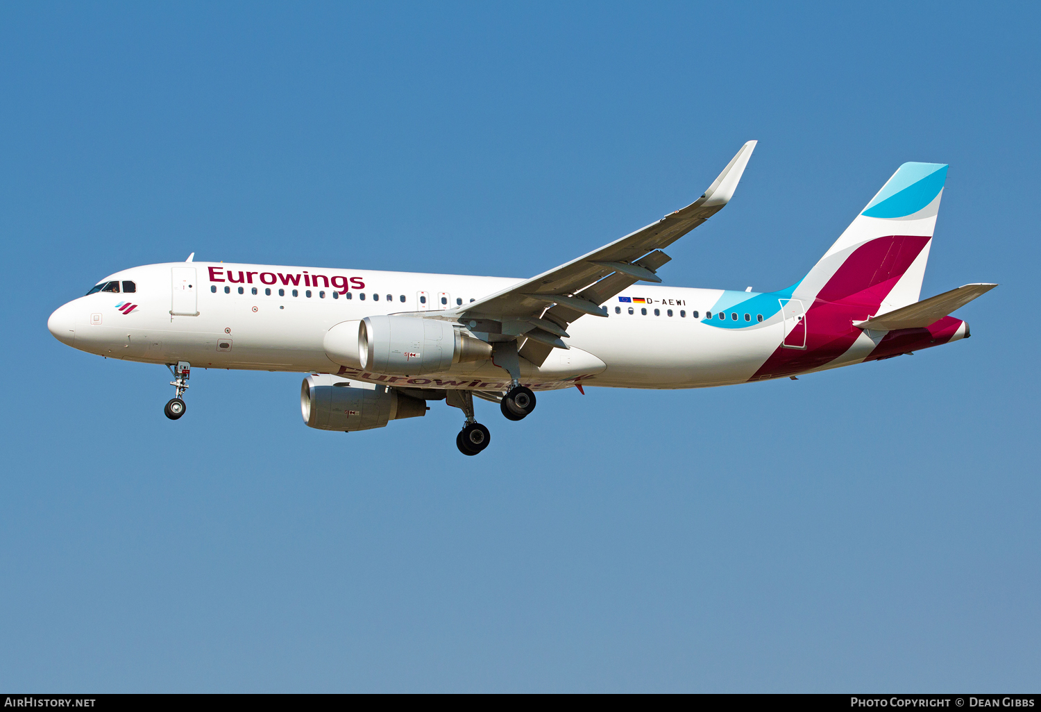 Aircraft Photo of D-AEWI | Airbus A320-214 | Eurowings | AirHistory.net #56071
