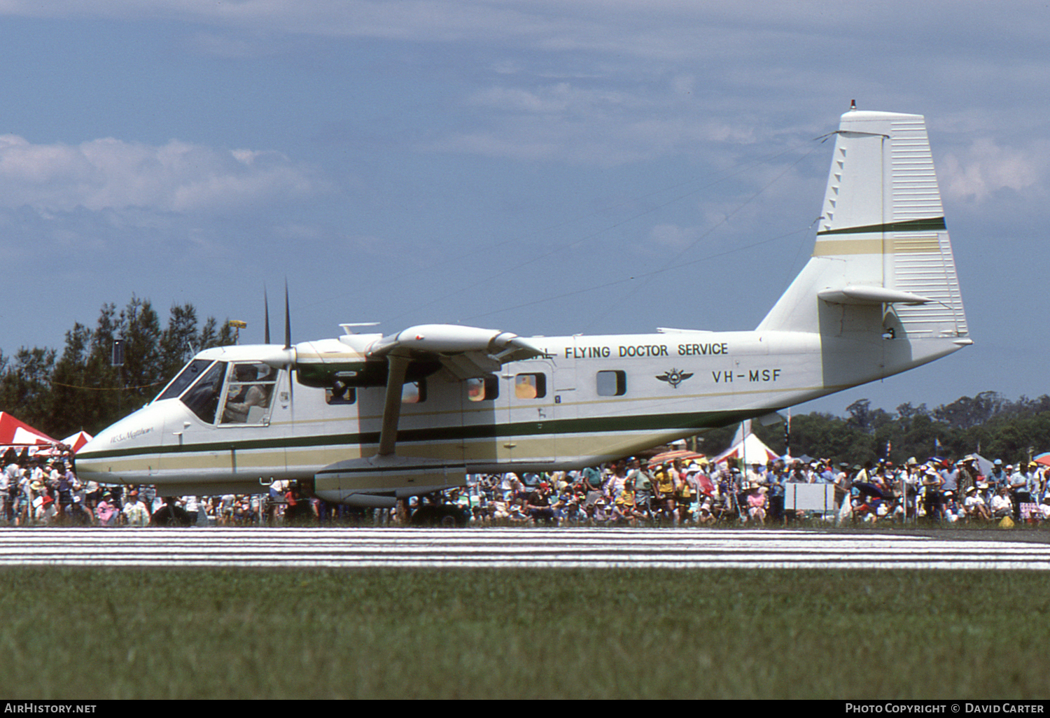 Aircraft Photo of VH-MSF | GAF N-22B Nomad | Royal Flying Doctor Service - RFDS | AirHistory.net #56244